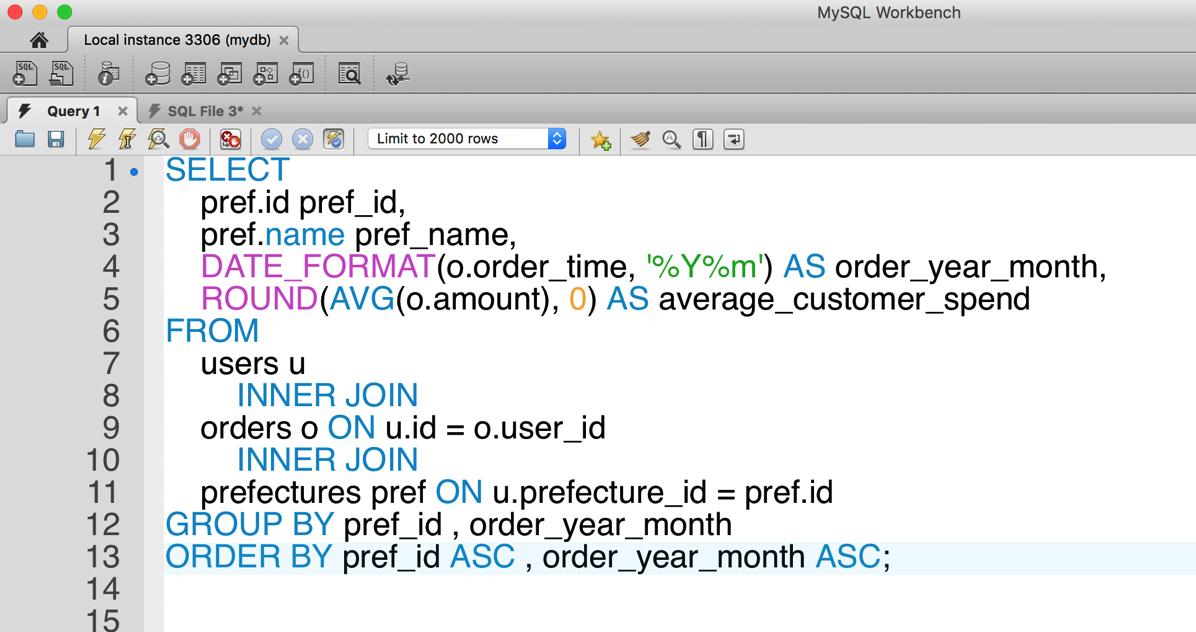 06 SQL整形後