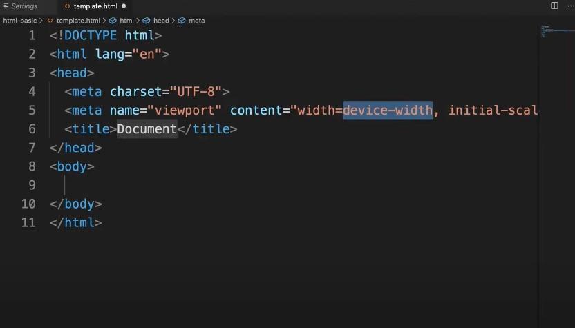 VSCodeのEmmet(デフォルト)